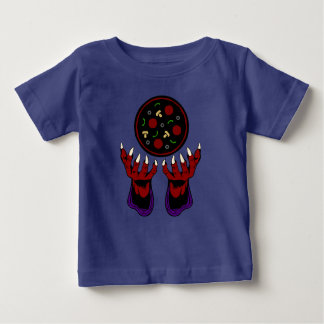 Pizza Demon – Summoner of Deliciousness Baby T-Shirt