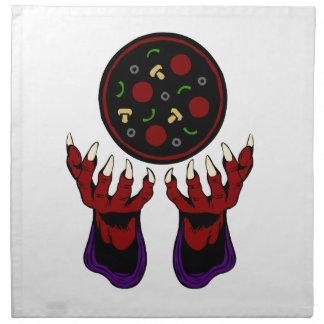Pizza Demon – Summoner of Deliciousness Napkin
