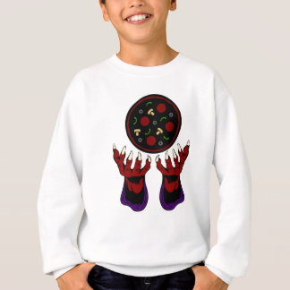 Pizza Demon – Summoner of Deliciousness Sweatshirt