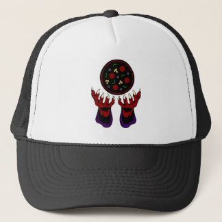 Pizza Demon – Summoner of Deliciousness Trucker Hat
