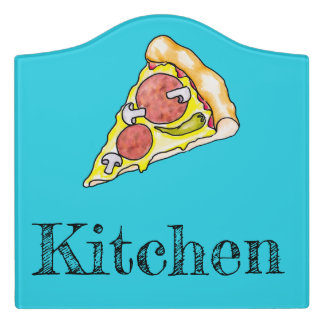 Pizza Door Sign