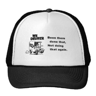 Pizza Driver Mesh Hats