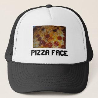 Pizza Face Trucker Hat