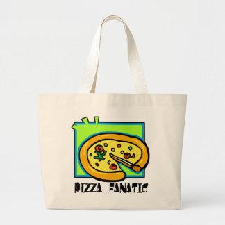 Pizza Fanatic Jumbo Tote Bag