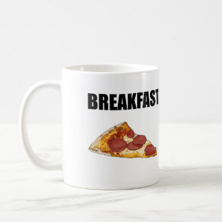 Pizza For Breakfast Mug