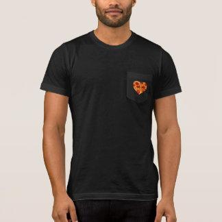 Pizza Heart Pocket T-Shirt