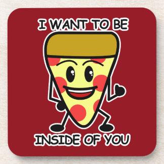 Pizza Inside You Coaster
