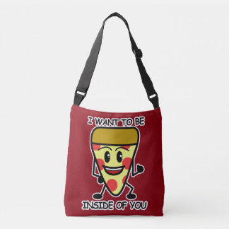 Pizza Inside You Crossbody Bag