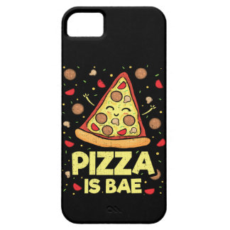 Pizza Is Bae - Funny Cartoon - Novelty Case For The iPhone 5