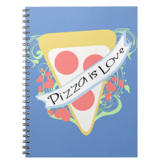 Pizza is Love Notebook