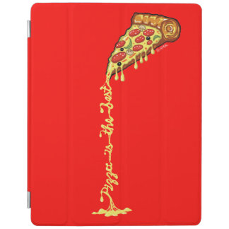 Pizza is the best iPad cover