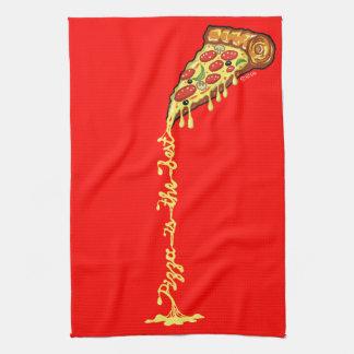 Pizza is the best tea towel