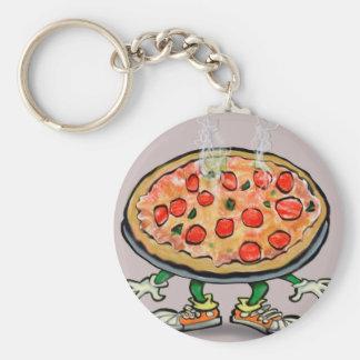 Pizza Key Ring