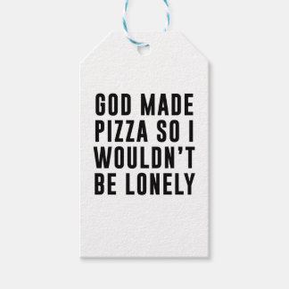 Pizza Lonely Gift Tags