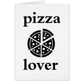 pizza lover card