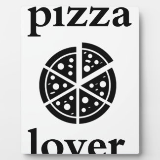 pizza lover plaque