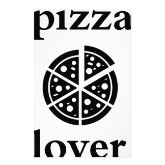 pizza lover stationery
