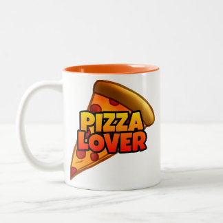 Pizza Lover Two-Tone Mug (11 oz.)
