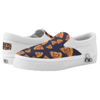 Pizza Lover's Slip On-Shoes US-Women Printed Shoes