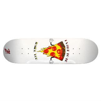 Pizza loves you skate decks