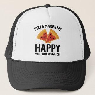 Pizza Makes Me Happy Trucker Hat