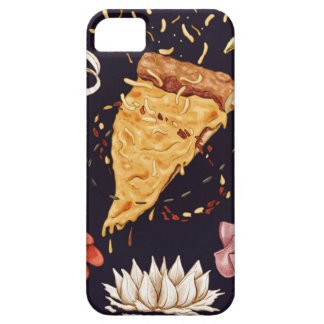 Pizza Mandala Case For The iPhone 5
