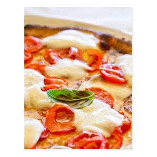 Pizza Margherita Postcard