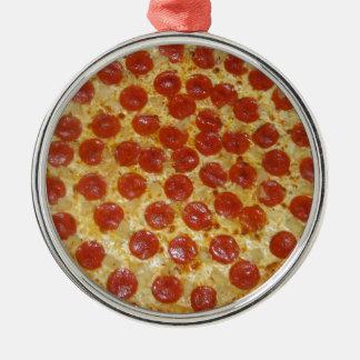 Pizza Metal Ornament