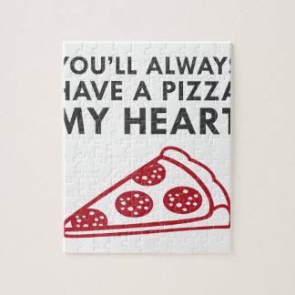Pizza My Heart Jigsaw Puzzle
