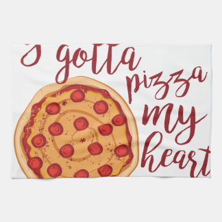 Pizza My Heart Kitchen Towels