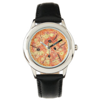 Pizza Novelty Food Watches