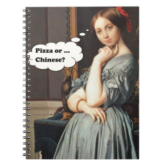 Pizza or Chenese? Spiral Notebook