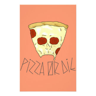 Pizza Or Die Stationery