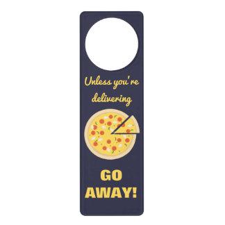 Pizza or Go Away ID233 Door Hangers