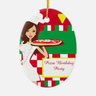 Pizza Party Decoration Christmas Tree Ornaments
