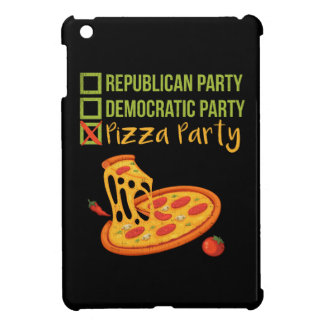 Pizza Party - Funny Novelty Voting Political iPad Mini Case