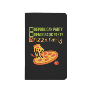 Pizza Party - Funny Novelty Voting Political Journal