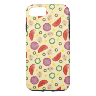 Pizza Pattern 2 iPhone 7 Case