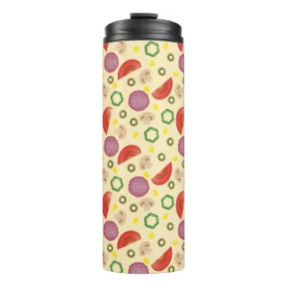 Pizza Pattern 2 Thermal Tumbler