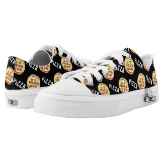 Pizza Pattern Low Tops
