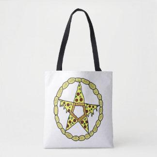 Pizza Pentacle Tote Bag