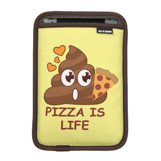 Pizza Poop Life iPad Mini Sleeve