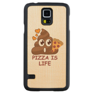 Pizza Poop Life Maple Galaxy S5 Case