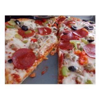 Pizza Postcard