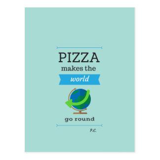 Pizza Quote Postcard