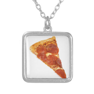 Pizza Slice - A Slice Of Pizza Personalized Necklace