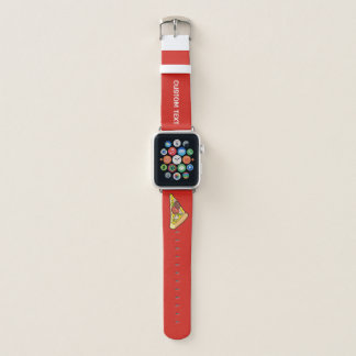 Pizza Slice Apple Watch Band