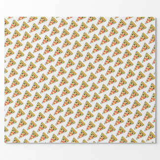 Pizza Sliced Wrapping Paper