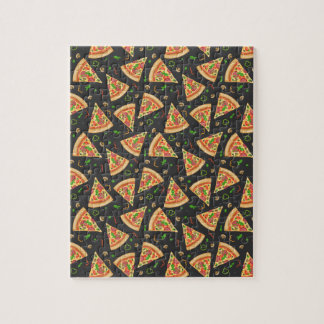 Pizza slices background jigsaw puzzle
