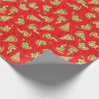 Pizza Slices Wrapping Paper